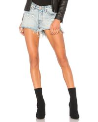 One Teaspoon - High Waist Bonitas Short - Lyst
