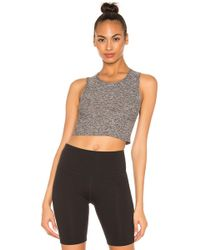 10f7788748 Beyond Yoga - Featherweight Top Notch Cropped Tank - Lyst