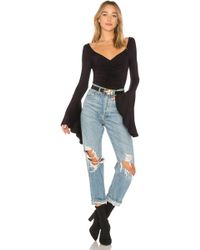 Free People - What A Babe Tee - Lyst