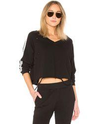 Generation Love - Sharyn Stripe Pullover In Black - Lyst