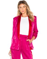 House of Harlow 1960 - X Revolve Mira Jacket In Pink - Lyst