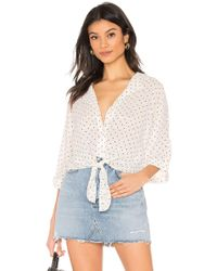 Cupcakes And Cashmere - Gardenia Blouse - Lyst
