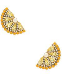 Anton Heunis - Lemon Slice Earrings - Lyst