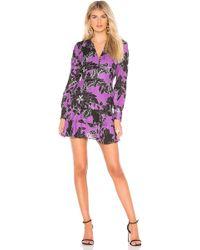 Parker - Hayley Dress In Purple - Lyst