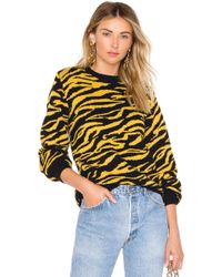House of Harlow 1960 - X Revolve Tiger Jumper In Yellow - Lyst