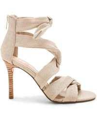 9117e2c756d Lyst - Ivanka Trump Garver Suede Lace Up Sandals - Compare At  140 ...