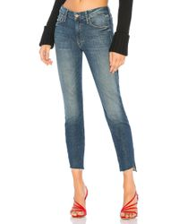 Mother - The Looker Ankle Step Fray - Lyst