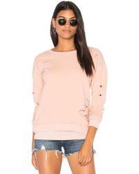 Generation Love - Viola Sweatshirt In Rose - Lyst