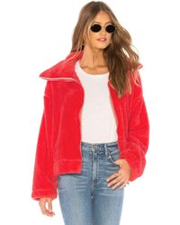 Free People - Dazed High Neck Pullover Jacket - Lyst