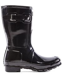 HUNTER - Original Refined Gloss Rain Boots - Lyst