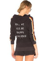 Spiritual Gangster - May We All Rainbow Pullover Hoodie - Lyst