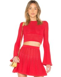 LPA - Top 242 In Red - Lyst