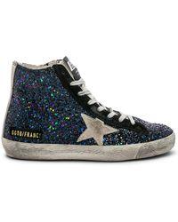 Golden Goose Deluxe Brand - Francy Sneaker In Black - Lyst