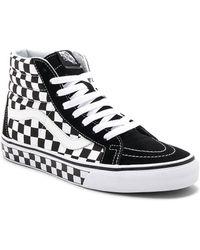 Vans - Sk8-hi Reissue Checkerboard - Lyst
