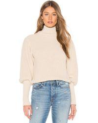 Callahan - Kane Sweater In Beige - Lyst