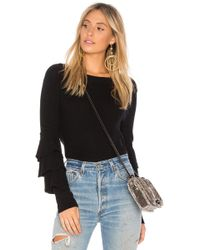 1.STATE - Tiered Ruffle Sleeve Jumper - Lyst