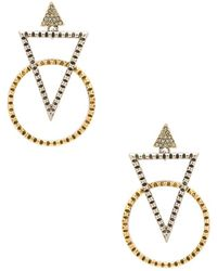 House of Harlow 1960 - Nadia Statement Earrings - Lyst