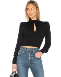 Free People - First Love Long Sleeve In Black - Lyst