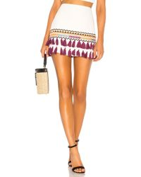 Tularosa - Millie Skirt In White - Lyst