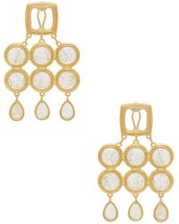 Luv Aj - The Quartz Chandelier Earrings - Lyst