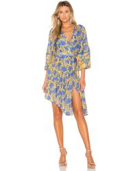 Apiece Apart - Short Bougainvillea Wrap Dress - Lyst