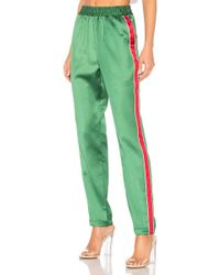 Lovers + Friends - Tailored Track Trouser In Green - Lyst
