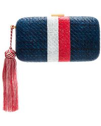 Kayu - Florence Clutch In Navy. - Lyst