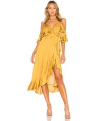 Bardot - Bea Wrap Dress - Lyst