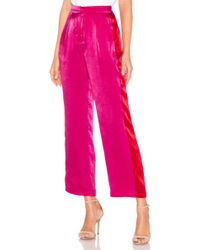 House of Harlow 1960 - X Revolve Alessia Pant In Pink - Lyst