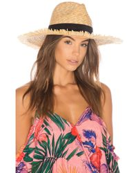 L*Space - L* Del Rey Fringe Hat In Tan. - Lyst