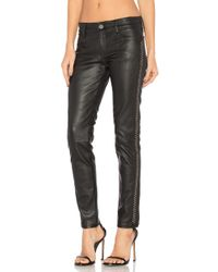 Etienne Marcel - Leather Studded Skinny - Lyst