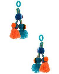 Nannacay - Killa Earring In Blue. - Lyst