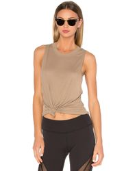 Alo Yoga - Heat Wave Tank In Nude - Lyst