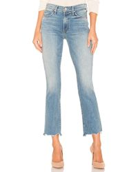 Mother - Jean Droit Rascal Ankle Chew - Lyst