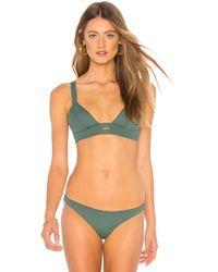 Vitamin A - Neutra Bikini Top - Lyst
