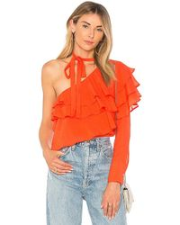 Line & Dot - Phi Phi Top In Orange - Lyst