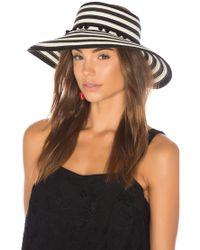 L*Space - Lewis Stripe Roll Up Hat L* - Lyst