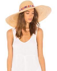 Florabella - Roxanna Hat In Brown. - Lyst