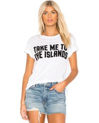 Mikoh Swimwear - Take Me To The Islands Tee - Lyst