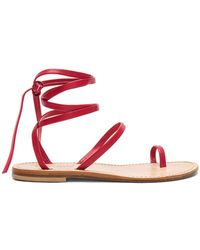 Cornetti - Alicudi Sandal In Red - Lyst