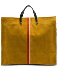 Clare V. - Simple Tote In Mustard. - Lyst