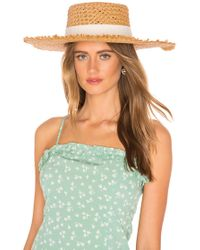L*Space - L* Jenny Hat (natural) Traditional Hats - Lyst