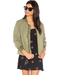 Michael Stars - Cinched Bomber - Lyst