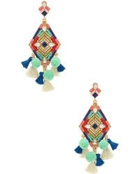 Rebecca Minkoff - Geo Stone Earrings - Lyst