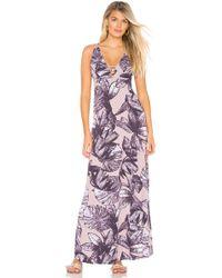Maaji - Strap Back Maxi Dress - Lyst