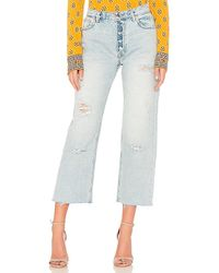 Free People - Rolling On The River Straight Crop - Lyst