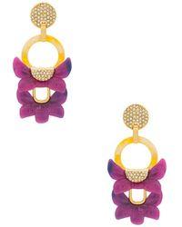 Lele Sadoughi - Rio Earring In Pink. - Lyst