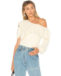 House of Harlow 1960 - X Revolve Monroe Sweater In Ivory - Lyst