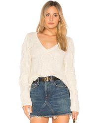Callahan - Nubby Bell Sleeve Sweater - Lyst