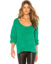Lovers + Friends - Sotto Jumper In Green - Lyst